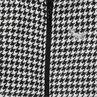 Junior - Manteau large imprimé jacquard pied de poule