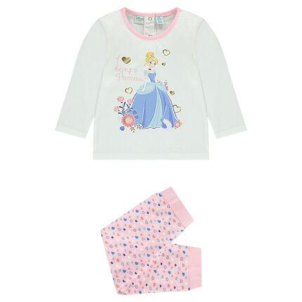 Pyjama long en jersey Disney Cendrillon