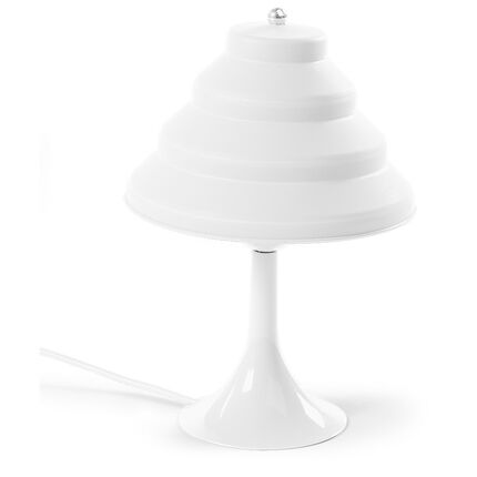 Lampe de chevet en silicone - Blanc