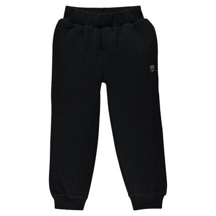 Junior - Pantalon de jogging en molleton uni avec poche