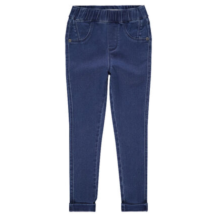 Jegging effet used coupe skinny