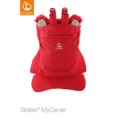 Porte-bébé dorsal MyCarrier – Rouge