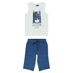 Junior - Pyjama court en jersey print BATMAN