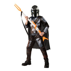 Déguisement The Mandalorian Star Wars taille 7-8 ans , Rubie'S