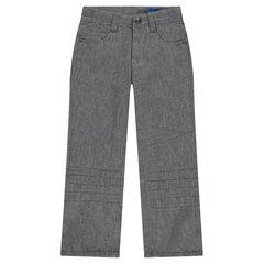 Pantalon en molleton coupe droite
