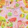 Tunique en voile imprimée fruits