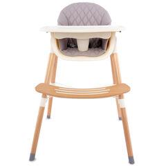 Chaise haute fixe Vaniya transformable - Beige