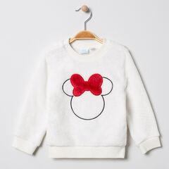 Sweat en sherpa serti Minnie Disney