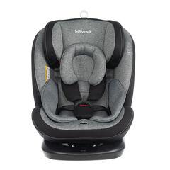 Siège-auto isofix groupe 0+/1/2/3 - Noir/gris , Babycare