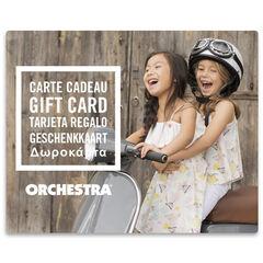 La E-carte cadeau Orchestra duoFilles