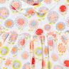 Robe à volants imprimée fleurs