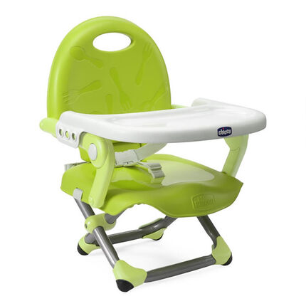 Rehausseur de chaise Pocket Snack - Lime