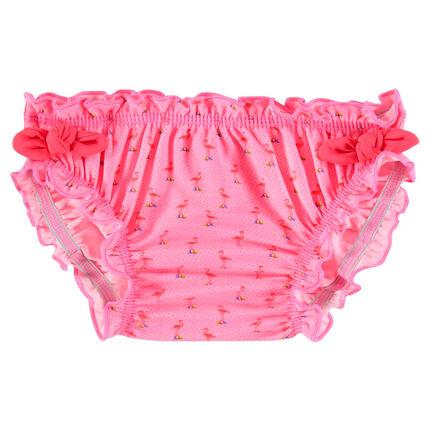 Culotte de bain avec flamants roses all-over
