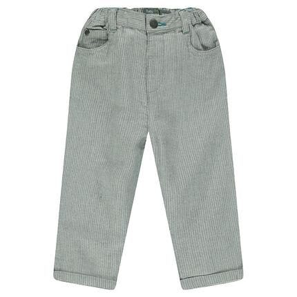 Pantalon en coton fantaisie