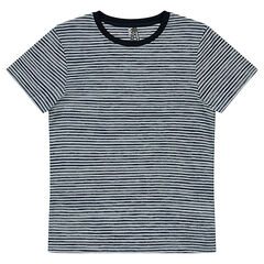 Junior - Tee-shirt manches courtes rayé all-over