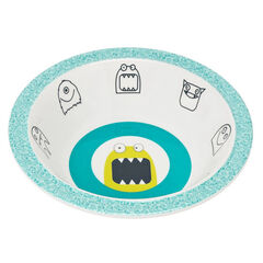 Bol mélamine/silicone Little Monsters - Bouncing Bob