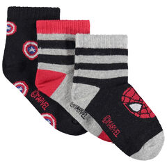 Lot de 3 paires de chaussettes Marvel
