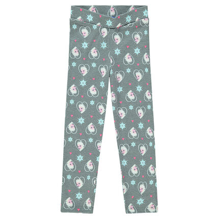 Legging long imprimé Disney la Reine des Neiges