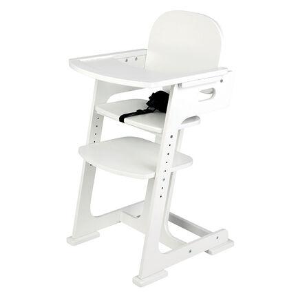 Chaise haute évolutive - Blanc