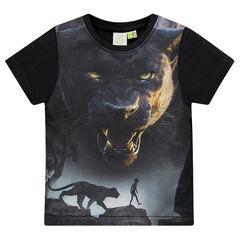 Tee-shirt manches courtes Disney print Bagheera