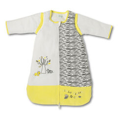 Turbulette en velours motif tigré et broderies (de la naissance au 12 mois)