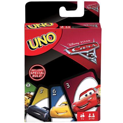Jeu de société Uno - Edition Cars 3