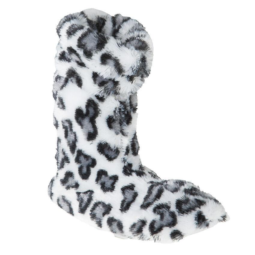Chaussons imprimés léopard avec pompons - Fille... mMIKZ