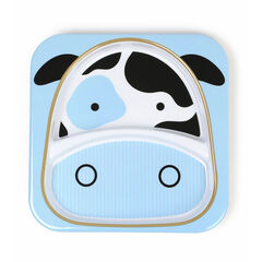 Assiette à compartiments Zoo - Vache