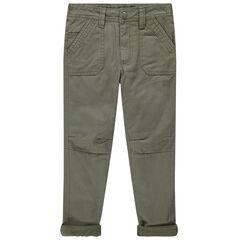 Pantalon doublé polaire