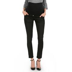 Pantalon de grossesse en twill avec bandeau haut