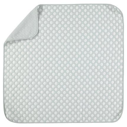 Couverture en coton à pois 80 x 80 cm