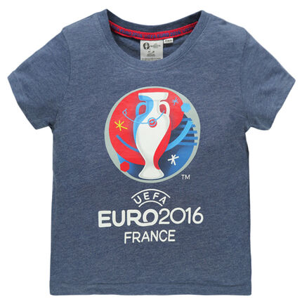 Tee-shirt manches courtes EURO 2016™ print France et coupe
