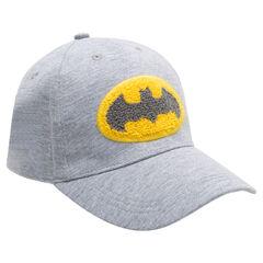 03254574193d4 Casquette en jersey avec badge en bouclette ©Warner Batman