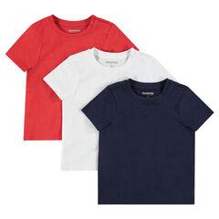 d2d6dee6dbd36 T-shirt bébé garçon - t-shirt anti-uv de 0 à 23 mois