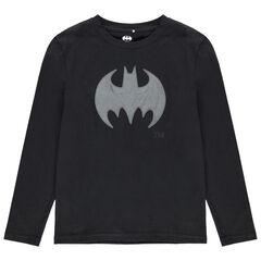Junior - T-shirt manches longues en coton bio motif Batman