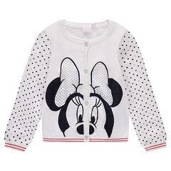 Gilet en tricot Disney avec Minnie printée