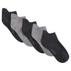 Lot de 5 paires de chaussettes courtes