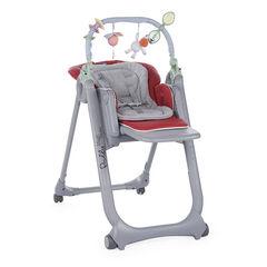 Chaise haute évolutive Polly Magic Relax - Rouge
