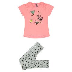 Junior - Pyjama fantaisie imprimé palmiers
