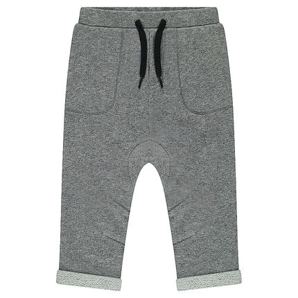 Pantalon de jogging en molleton twisté