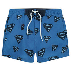 Short de bain avec logo ©Warner Superman all-over