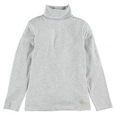 Sous-pull col roulé en coton stretch
