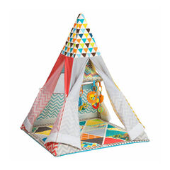 Tipi et tapis d'éveil - Grow-with-me Playtime
