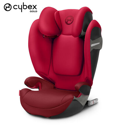 Siège-auto isofix Solution S-Fix groupe 2/3 - Rebel Red