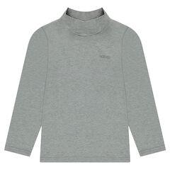 Junior - Sous-pull en jersey avec col cheminée