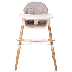 Chaise haute 2-en-1 Vaniya - Beige
