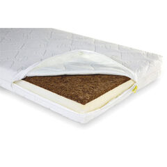 Matelas Duo Kokos Natural Safe Sleeper - 70 x 140 x 12 cm