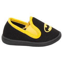 Chaussons bas noirs et jaunes DC Comics Batman