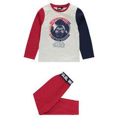 Pyjama en jersey Star Wars™ avec print Dark Vador
