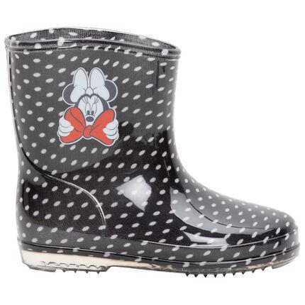 Bottes de pluis Minnie Disney à pois all-over du 24 au 29